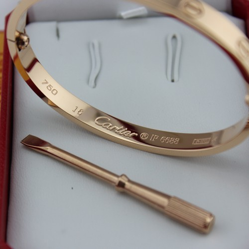 305e6af66942d Replica Cartier Love Bracelet Pink Gold with Screwdriver