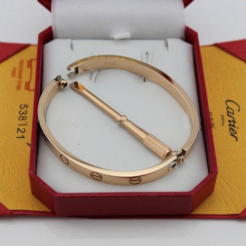 replica cartier love bracciale oro rosa con cacciavite